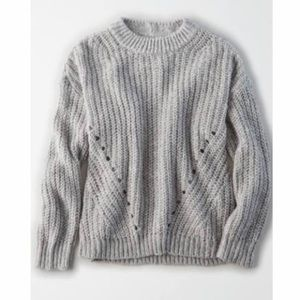 NWT AMERICAN EAGLE OVERSIZED GRAY SWEATER